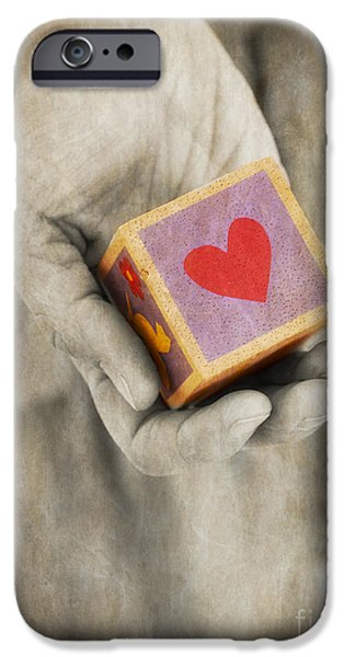 You hold my heart in your hand iPhone Case by Edward Fielding