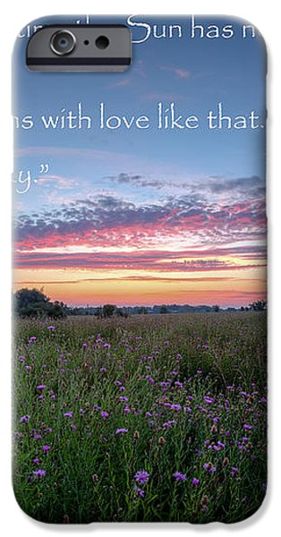 You Owe Me iPhone Case by Bill  Wakeley
