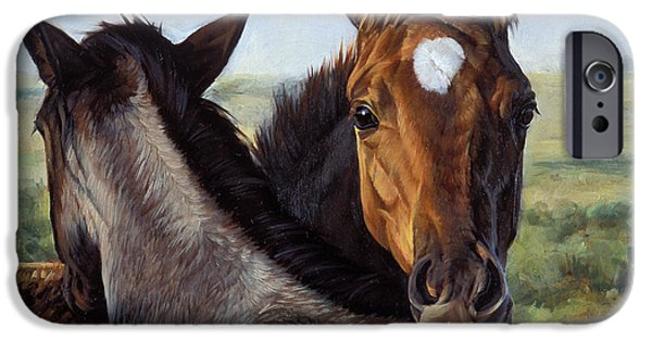 Barns iPhone Cases - You Scratch Mine iPhone Case by JQ Licensing