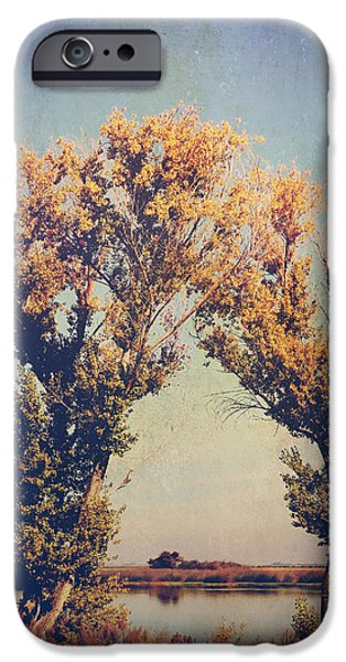 Wetlands iPhone Cases - You Were Meant For Me iPhone Case by Laurie Search