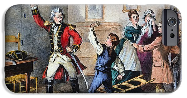 American Revolution iPhone Cases - Young Andrew Jackson iPhone Case by Granger