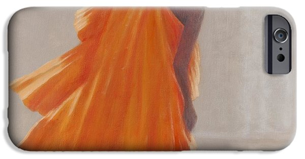 Young Man Photographs iPhone Cases - Young Buddhist Monk, 2014 Oil On Canvas iPhone Case by Lincoln Seligman