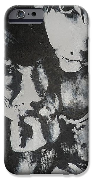 Young Lovers iPhone Case by Cherise Foster