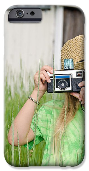 young photographer iPhone Case by Maria Dryfhout