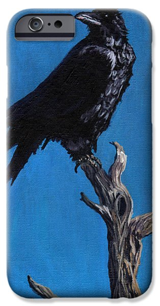 Pinion Paintings iPhone Cases - Your goodies are next iPhone Case by Timithy L Gordon