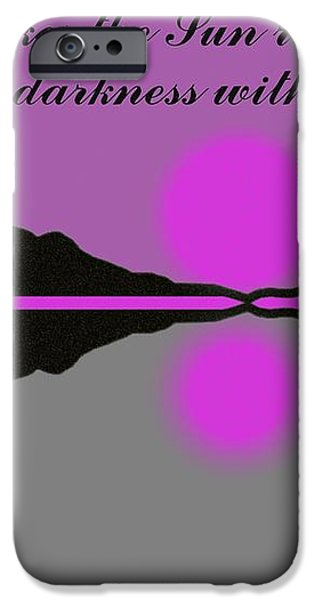 Your Love iPhone Case by George Pedro