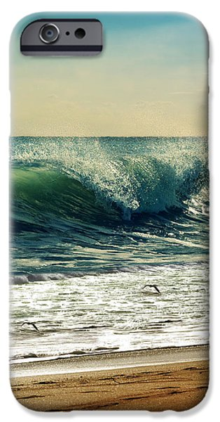 York Beach iPhone Cases - Your Moment Of Perfection iPhone Case by Laura Fasulo