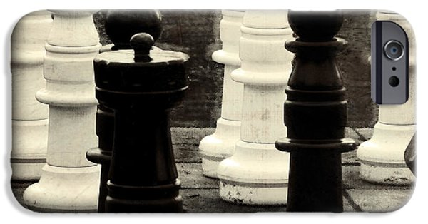 Chess Queen iPhone Cases - Your Move iPhone Case by Colleen Kammerer