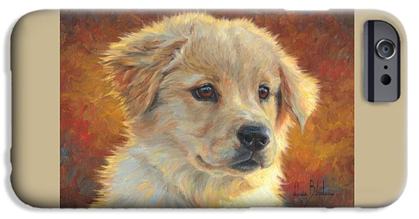 Dogs iPhone Cases - Youth iPhone Case by Lucie Bilodeau