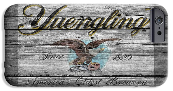 Sign iPhone Cases - Yuengling iPhone Case by Joe Hamilton