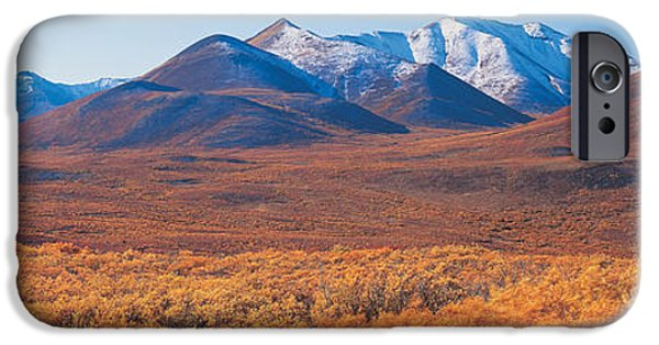 Yukon Territory iPhone Cases - Yukon Territory Canada iPhone Case by Panoramic Images