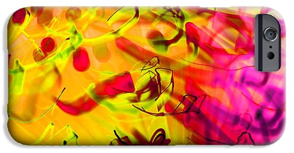 Abstract Digital Photographs iPhone Cases - Yyz iPhone Case by Dazzle Zazz