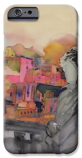 Z and The City iPhone Case by Carolyn Doe