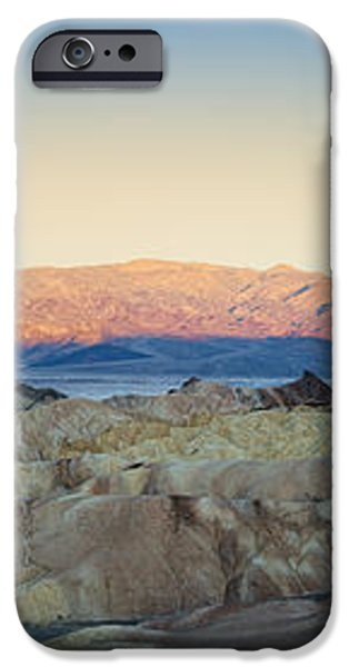 Zabriskie Point Panorana iPhone Case by Jane Rix