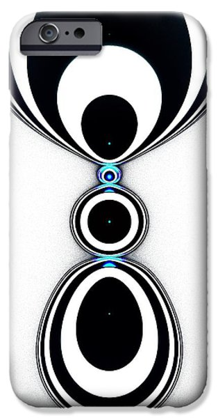Abstracts iPhone Cases - Zebra Jewels iPhone Case by Anastasiya Malakhova