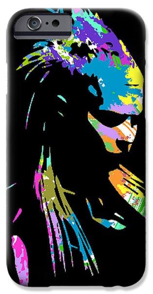 Terrier Digital iPhone Cases - zef 2014 Yolandi iPhone Case by Jera Sky