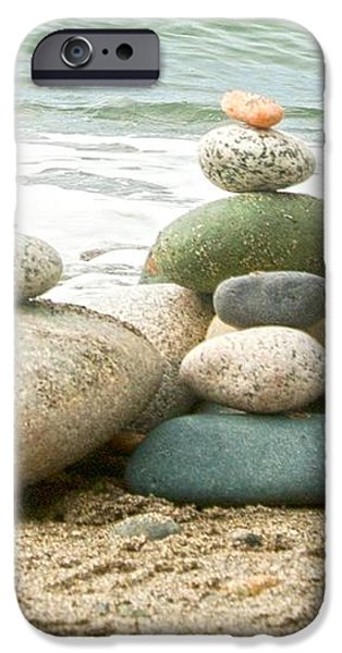 Zen Meditation Balance iPhone Case by Artist and Photographer Laura Wrede