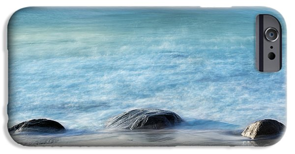 Steadfast iPhone Cases - Zen Rocks iPhone Case by John Greim
