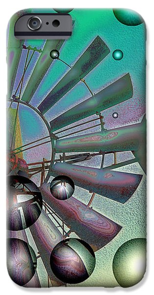 Zephyrus - Aloft iPhone Case by Wendy J St Christopher