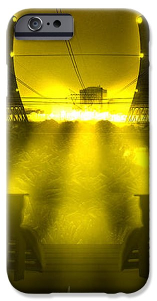 Zero Hour in Yellow iPhone Case by Mike McGlothlen