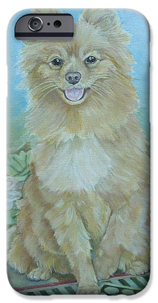 Dog iPhone Cases - Zeus iPhone Case by Kimberly McSparran