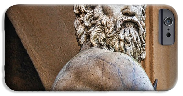 Zeus iPhone Cases - Zeus iPhone Case by Lee Dos Santos