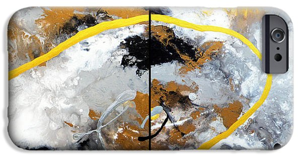 Zeus Mixed Media iPhone Cases - Zeus iPhone Case by Tylo Jacobs