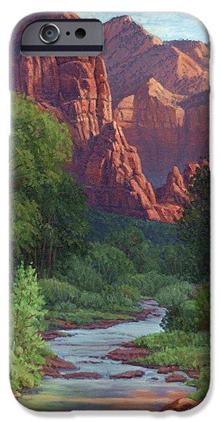 Zion iPhone Case by Randy Follis