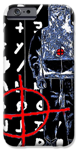 Solano iPhone Cases - Zodiac Killer 20140912poster iPhone Case by Wingsdomain Art and Photography