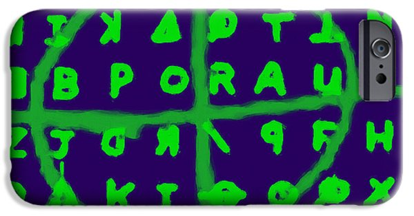 Solano iPhone Cases - Zodiac Killer Code and SIgn 20130213p128 iPhone Case by Wingsdomain Art and Photography