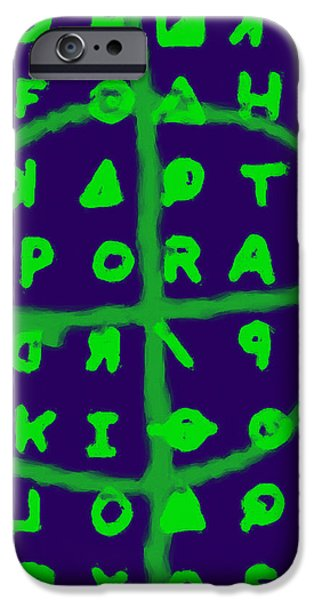 Zodiac Killer Code and SIgn 20130213p128 iPhone Case by Wingsdomain Art and Photography