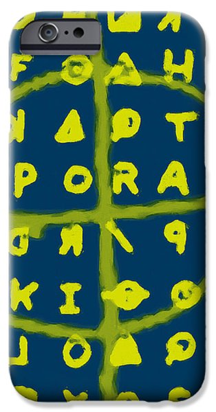 Zodiac Killer Code and SIgn 20130213p68 iPhone Case by Wingsdomain Art and Photography