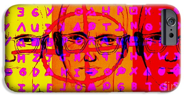Solano iPhone Cases - Zodiac Killer Three With Code and SIgn 20130213 iPhone Case by Wingsdomain Art and Photography