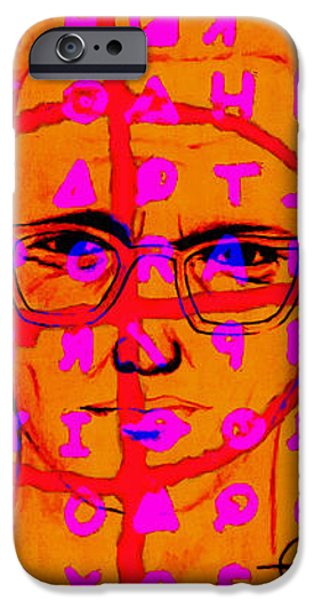 Zodiac Killer Three With Code and SIgn 20130213 iPhone Case by Wingsdomain Art and Photography