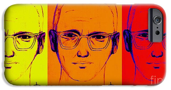 Solano iPhone Cases - Zodiac Killer Three With SIgn 20130213 iPhone Case by Wingsdomain Art and Photography