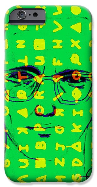Solano iPhone Cases - Zodiac Killer With Code and SIgn 20130213 iPhone Case by Wingsdomain Art and Photography