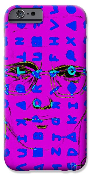 Solano iPhone Cases - Zodiac Killer With Code and SIgn 20130213m180 iPhone Case by Wingsdomain Art and Photography
