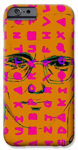Zodiac Killer With Code and SIgn 20130213m80 iPhone Case by Wingsdomain Art and Photography