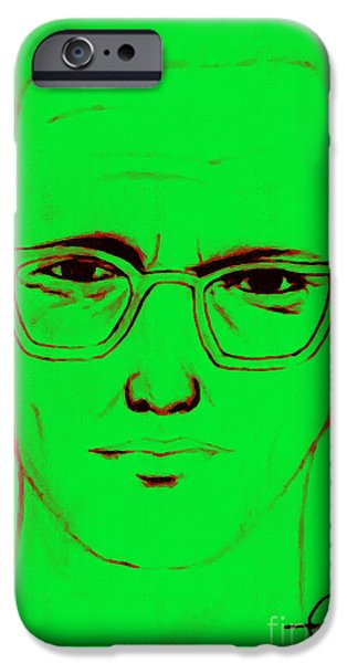 Solano iPhone Cases - Zodiac Killer With SIgn 20130213 iPhone Case by Wingsdomain Art and Photography