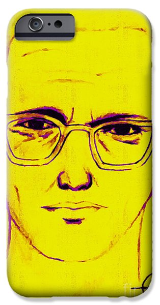 Zodiac Killer With SIgn 20130213m68 iPhone Case by Wingsdomain Art and Photography