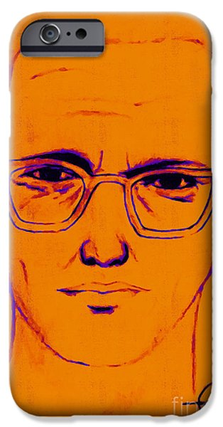 Solano iPhone Cases - Zodiac Killer With SIgn 20130213m98 iPhone Case by Wingsdomain Art and Photography