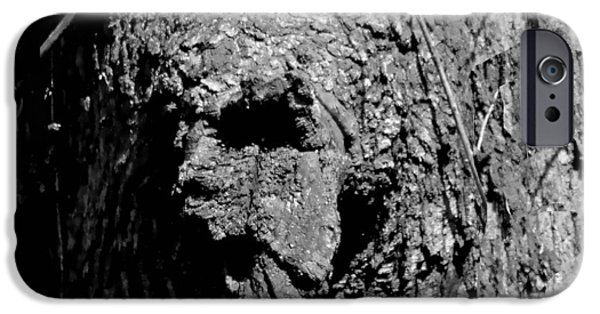 Creepy iPhone Cases - Zombie Tree Troll iPhone Case by Deena Stoddard