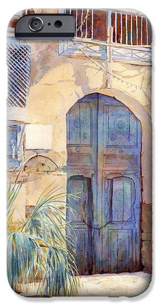 Blue Door  iPhone Case by Dorothy Boyer