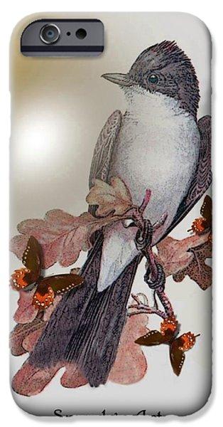 Eastern Kingbird iPhone Case by Madeline  Allen - SmudgeArt