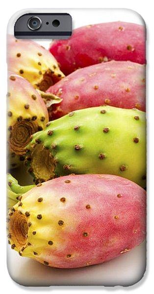 Fruits of Opuntia ficus-indica  iPhone Case by Fabrizio Troiani