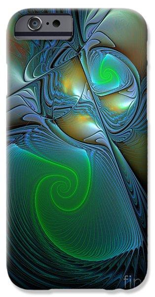 Light In The Dark iPhone Case by Deborah Benoit