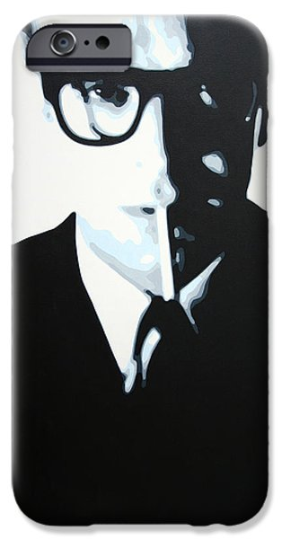 - Palmer - iPhone Case by Luis Ludzska