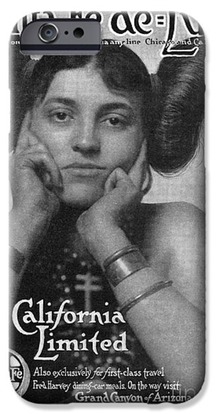HAIRSTYLE: HOPI, 1911 iPhone Case by Granger
