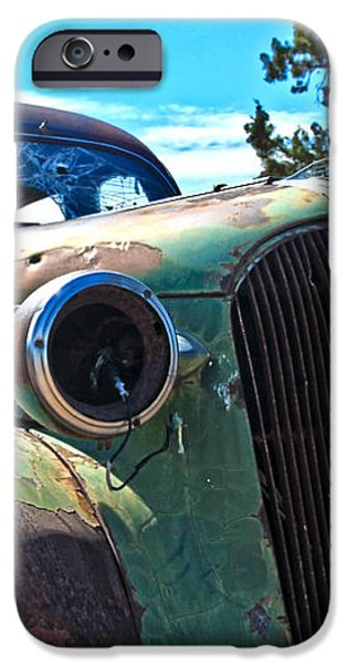 1937 Plymouth iPhone Case by Steve McKinzie