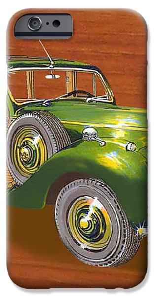 1947 Bentley Shooting Brake iPhone Case by Jack Pumphrey